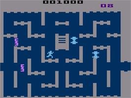 In game image of Space Cavern on the Atari 2600.
