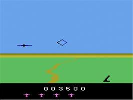 In game image of Spitfire Attack on the Atari 2600.