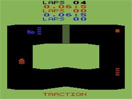 In game image of Sprintmaster on the Atari 2600.