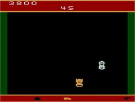 In game image of Spy Hunter on the Atari 2600.