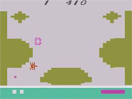 In game image of Strategy X on the Atari 2600.