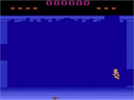 In game image of Tomarc the Barbarian on the Atari 2600.