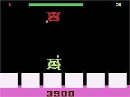 In game image of Tooth Protectors on the Atari 2600.
