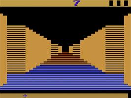 In game image of Tunnel Runner on the Atari 2600.