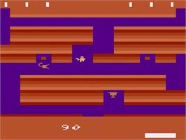 In game image of Tutankham on the Atari 2600.