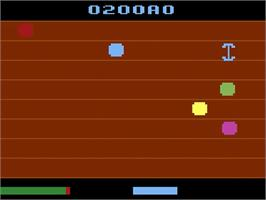 In game image of Ultra SCSIcide on the Atari 2600.