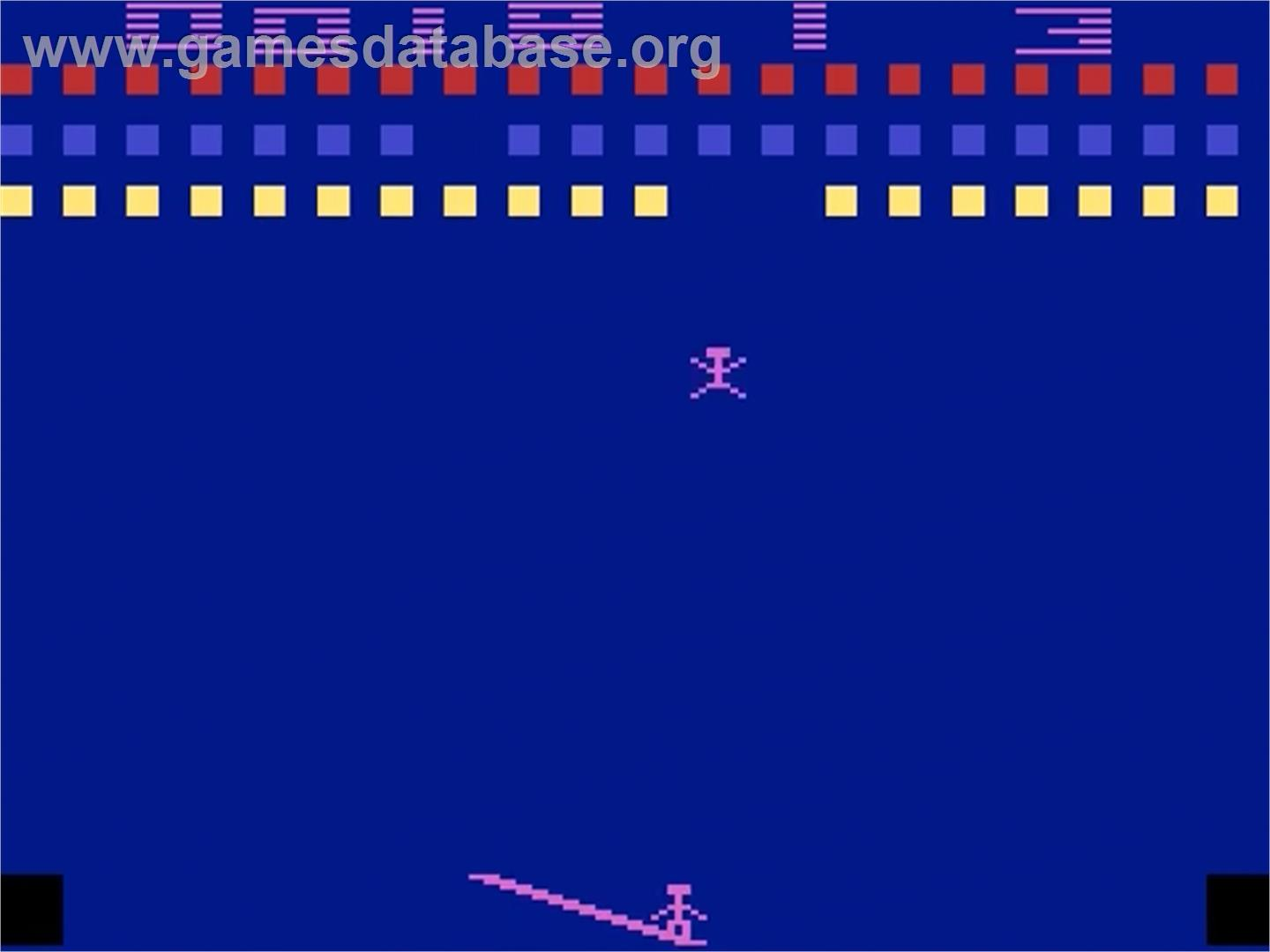 Circus Atari - Atari 2600 - Artwork - In Game