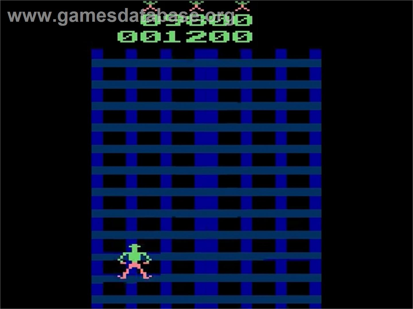 Crazy Climber - Atari 2600 - Artwork - In Game