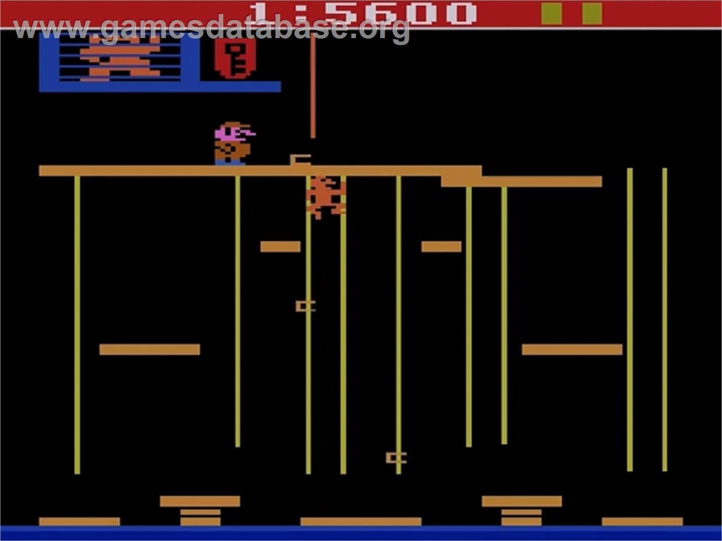 Donkey Kong Junior - Atari 2600 - Artwork - In Game