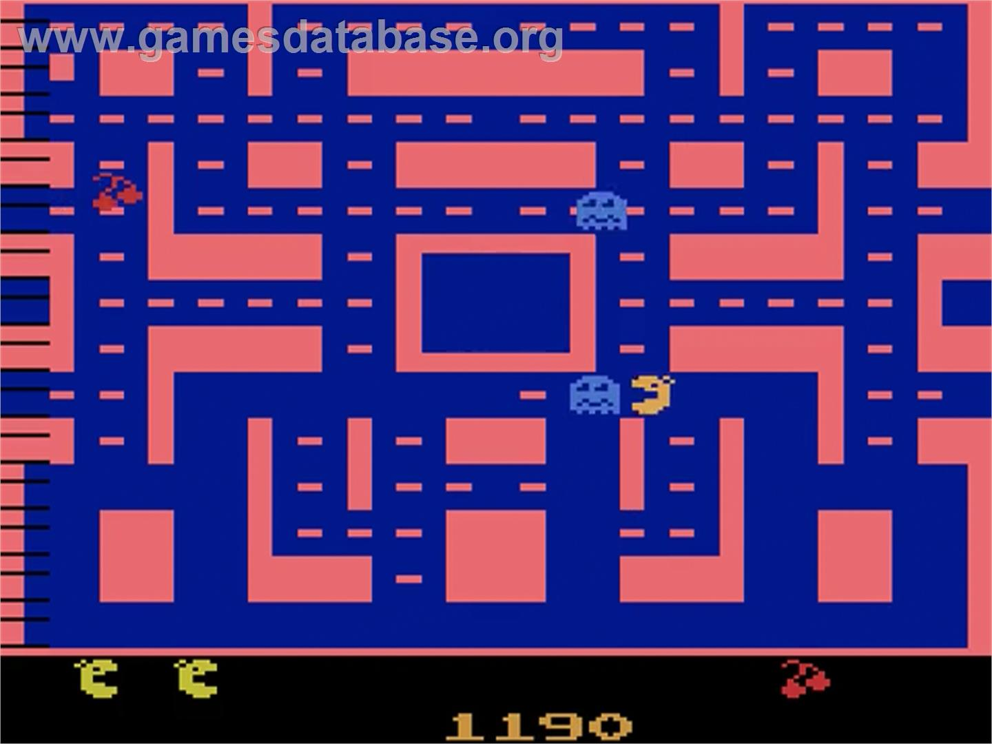 Ms. Pac-Man - Atari 2600 - Artwork - In Game