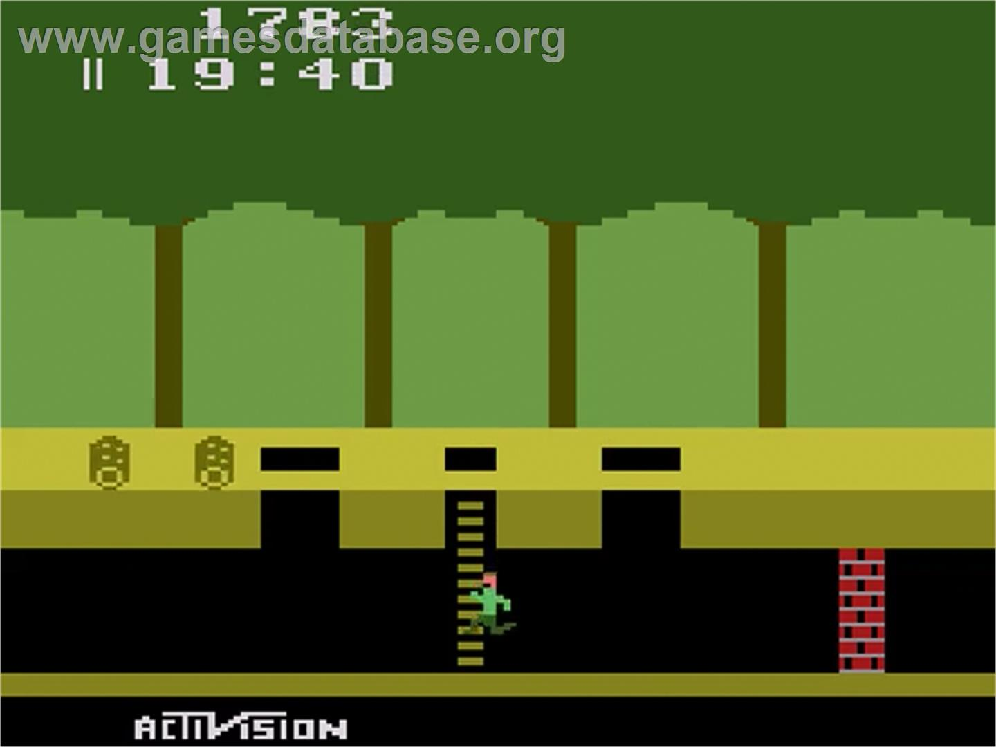 Pitfall! - Atari 2600 - Artwork - In Game