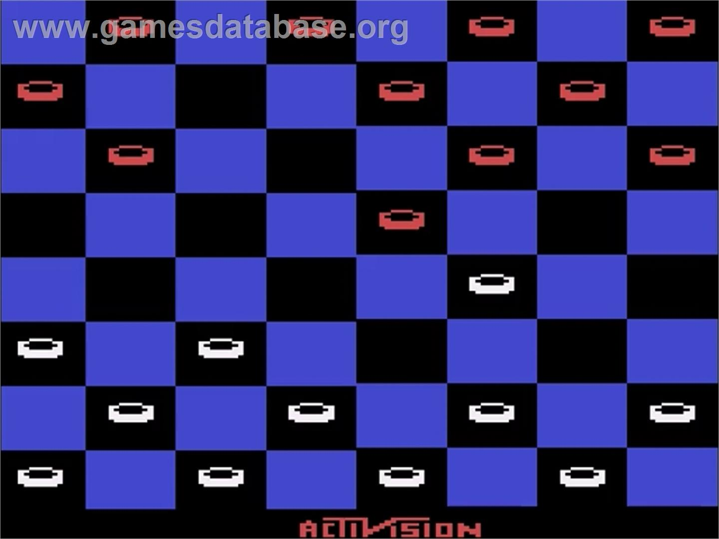 Video Checkers - Atari 2600 - Artwork - In Game