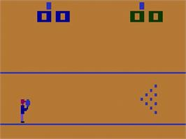 Title screen of Bowling on the Atari 2600.