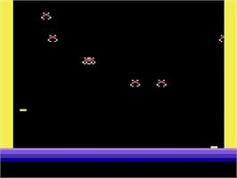 Title screen of Deadly Duck on the Atari 2600.