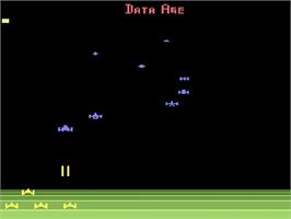 Title screen of Encounter at L5 on the Atari 2600.