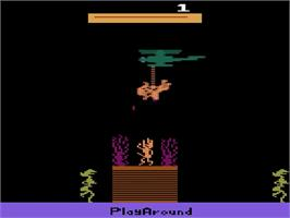 Title screen of Jungle Fever/Knight on the Town on the Atari 2600.
