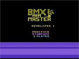 Title screen of Kung-Fu Master on the Atari 2600.