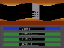 Title screen of Laser Gates on the Atari 2600.