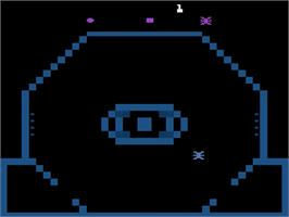Title screen of Reactor on the Atari 2600.
