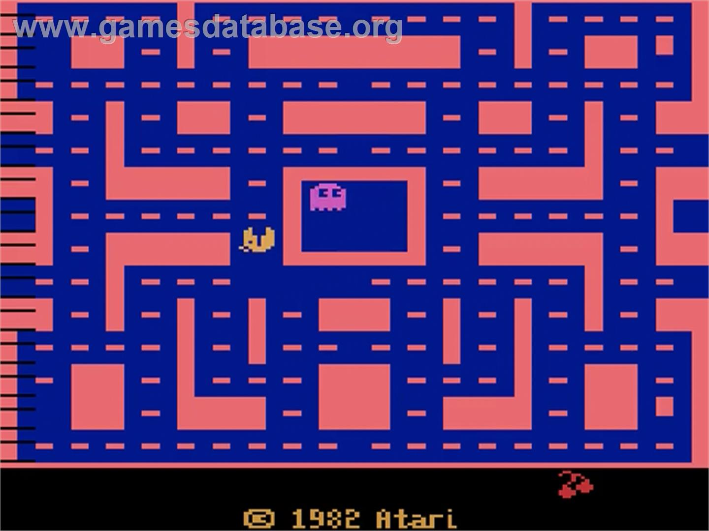 Ms. Pac-Man - Atari 2600 - Artwork - Title Screen