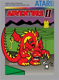 Box cover for Adventure 2 on the Atari 5200.