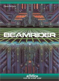 Box cover for Beamrider on the Atari 5200.