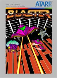 Box cover for Blaster on the Atari 5200.
