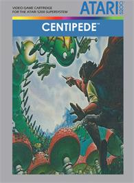 Box cover for Centipede on the Atari 5200.