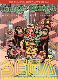 Box cover for Congo Bongo on the Atari 5200.