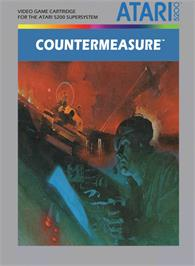 Box cover for Countermeasure on the Atari 5200.