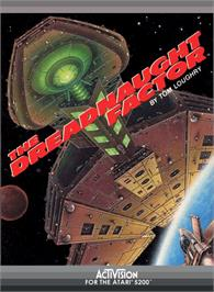 Box cover for Dreadnaught Factor on the Atari 5200.
