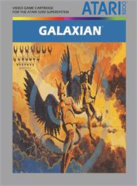 Box cover for Galaxian on the Atari 5200.