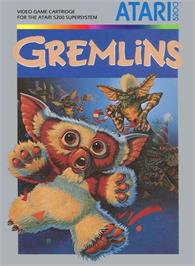 Box cover for Gremlins on the Atari 5200.