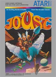 Box cover for Joust on the Atari 5200.