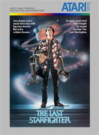 Box cover for Last Starfighter on the Atari 5200.