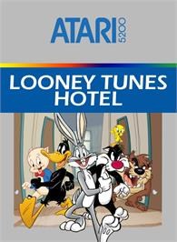Box cover for Looney Tunes Hotel on the Atari 5200.