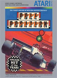 Box cover for Pole Position on the Atari 5200.