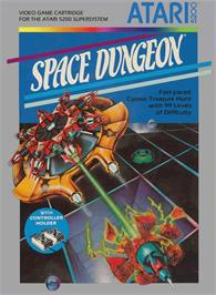 Box cover for Space Dungeon on the Atari 5200.
