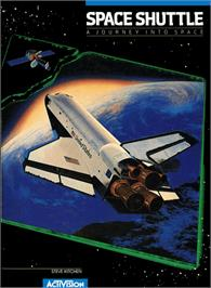 Box cover for Space Shuttle: A Journey into Space on the Atari 5200.
