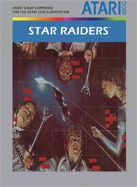 Box cover for Star Raiders on the Atari 5200.