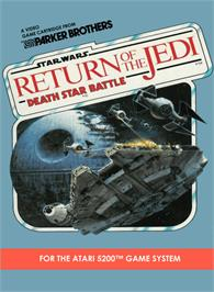 Box cover for Star Wars: Return of the Jedi - Death Star Battle on the Atari 5200.