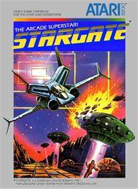 Box cover for Stargate on the Atari 5200.