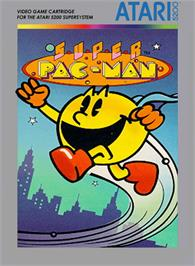 Box cover for Super Pac-Man on the Atari 5200.