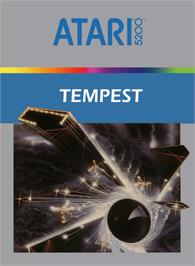 Box cover for Tempest on the Atari 5200.