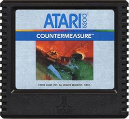 Cartridge artwork for Countermeasure on the Atari 5200.