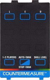 Overlay for Countermeasure on the Atari 5200.