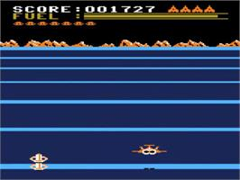 In game image of Buck Rogers: Planet of Zoom on the Atari 5200.