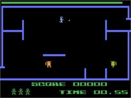 In game image of K-Razy Shootout on the Atari 5200.