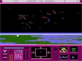 In game image of Last Starfighter on the Atari 5200.