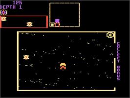 In game image of Space Dungeon on the Atari 5200.